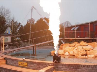 Slagharen Vlammen Multimediashow Special Effects Flames FX