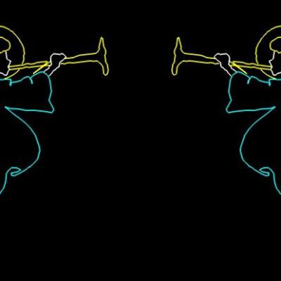 Huwelijks Show Themashow Laser Lasershow Animatie Engelen