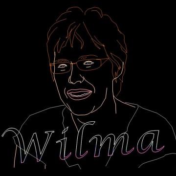 Verjaardag Show Themashow Laser Lasershow Animatie Gefeliciteerd Wilma