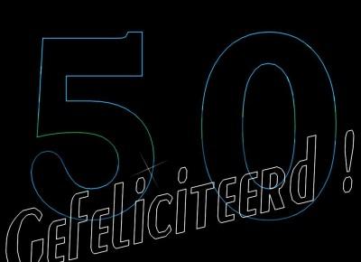 Laser Show Verjaardag Gefeliciteerd Animatie Special Effectshow