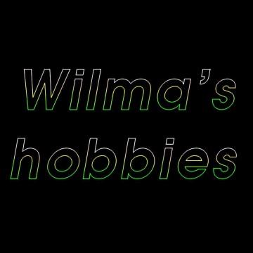 Verjaardag show,Laseranimatie, Gefeliciteerd Wilma Hobbies