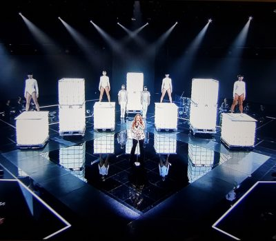 Led tanks bij the voice of Holland