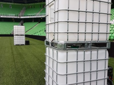 IBC led tank in Noordlease stadion