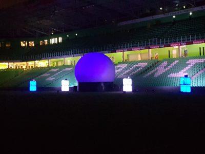 Projectiebol -Noordlease-stadion-FC Groningen -lasershow