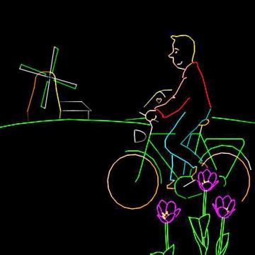 Holland show fietsen