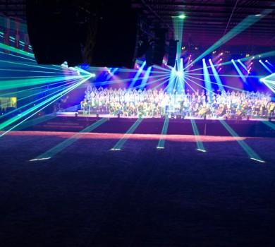 Frisian Proms lasershow