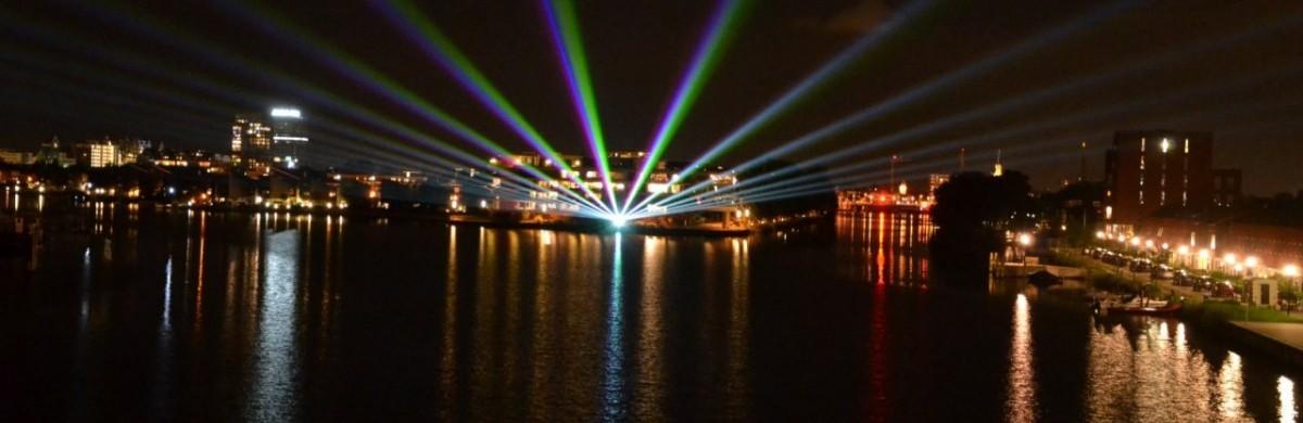 Laserstralen Dam tot Dam loop Zaandam