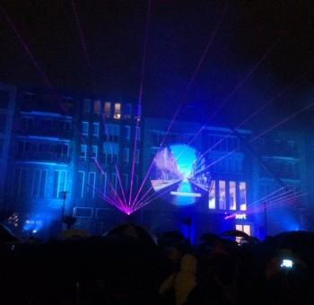 Lasershow Veenendaal