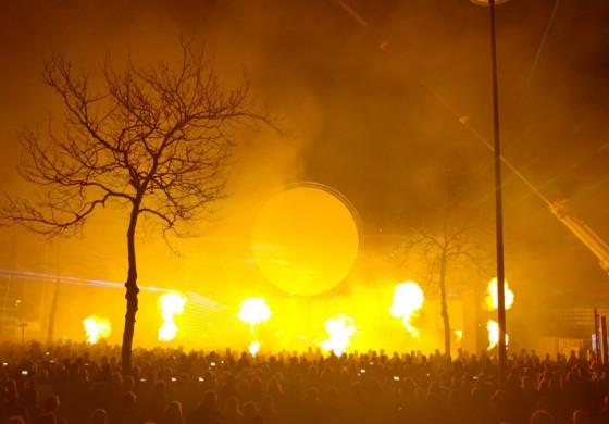 Show Cascaderun Hoogeveen flames