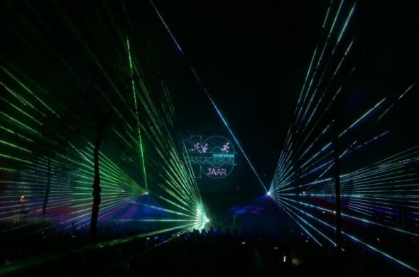 Cascaderun Multimedia lasershow