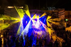 DTL Laser @ TT-Nacht Assen - Live Laser control