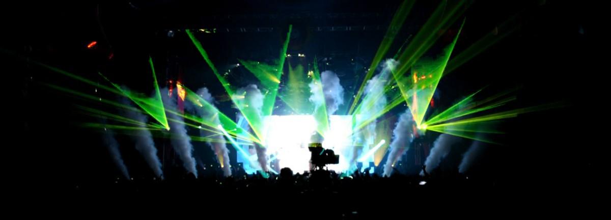 DTL Laser @ Pinkpop 2016 - Live Laser control