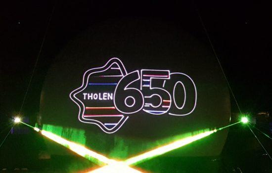 Lasershow Tholen