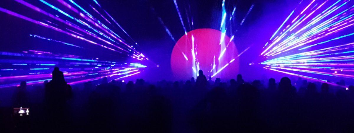 show laser Tholen 650 jaar
