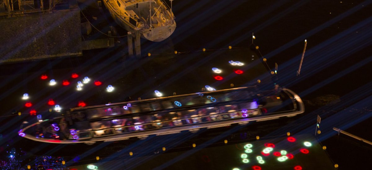 Amsterdam Light Festival rondvaart laserprojectie Isabel Nielen DTl