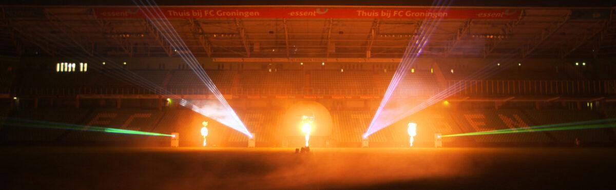 Flamejets-Noordlease-stadion