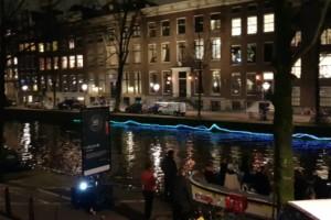 Amsterdam light festival Lifeline