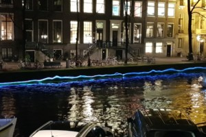 Amsterdam light festival Lifeline