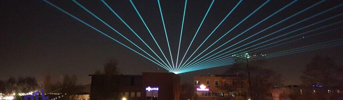 Laserstralen Politie Veluwe West